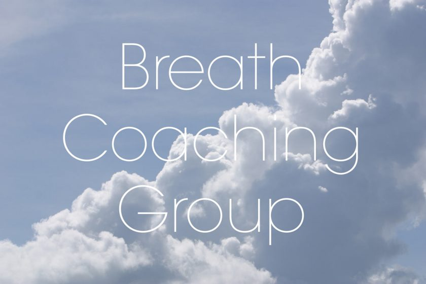 Breath Coaching on Zoom by Donation